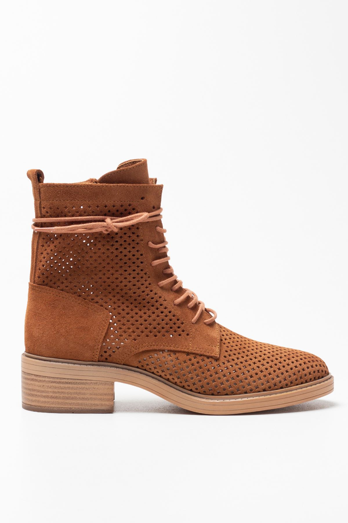 Becca Tan Genuine Leather Women's Summer Boots